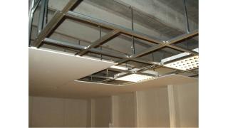 Kako se montiraju gipsane ploče na strop !