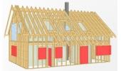 ArCon WoodCon je programsko rješenje za projektiranje drvene konstrukcije zgrada.